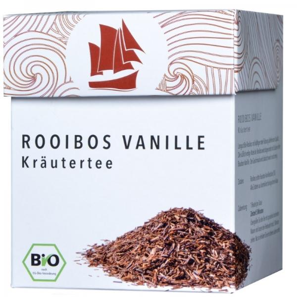 Passione Tea Company Rooibos Vanille Kräutertee 800x800