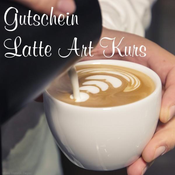 Gutschein Latte Art Kurs