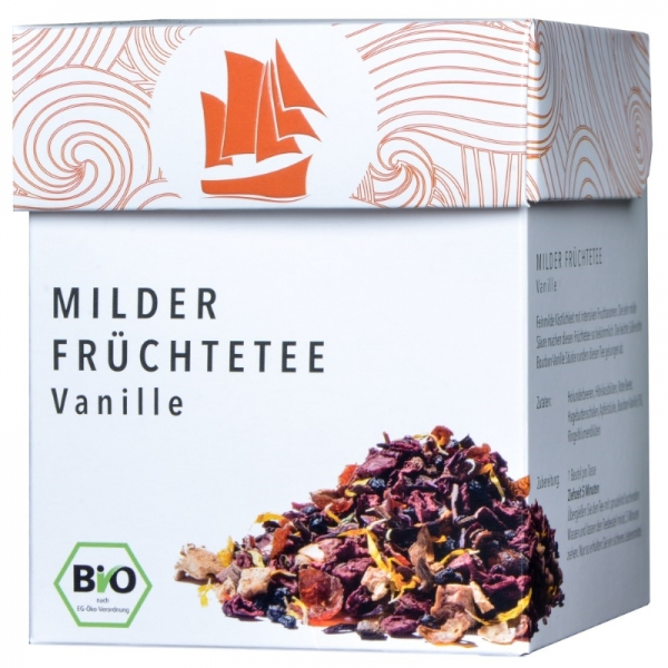 Passione Tea Company Milder Früchtetee Vanille 800x800