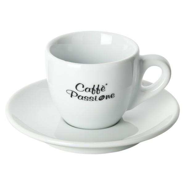 Caffè Passione Espressotasse mit Untertasse 800x800