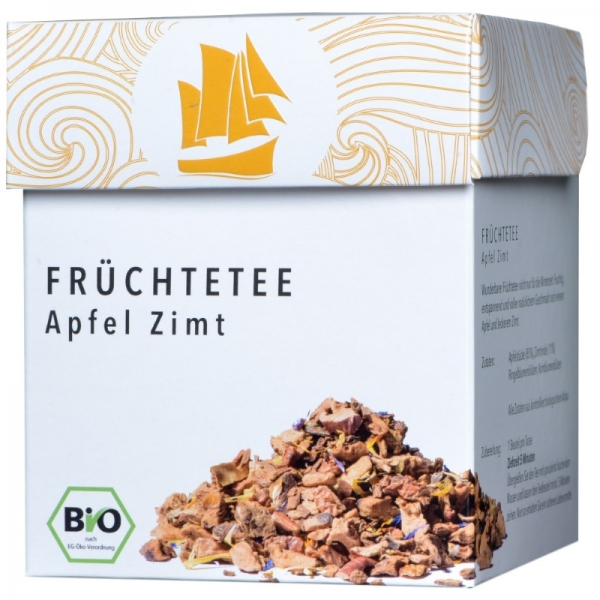 Passione Tea Company Früchtetee Apfel Zimt 800x800