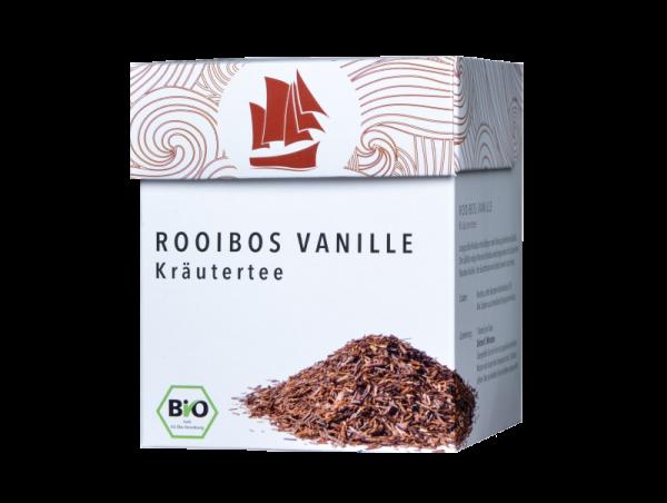 Passione Tea Company Rooibos Vanille Kräutertee 800x602